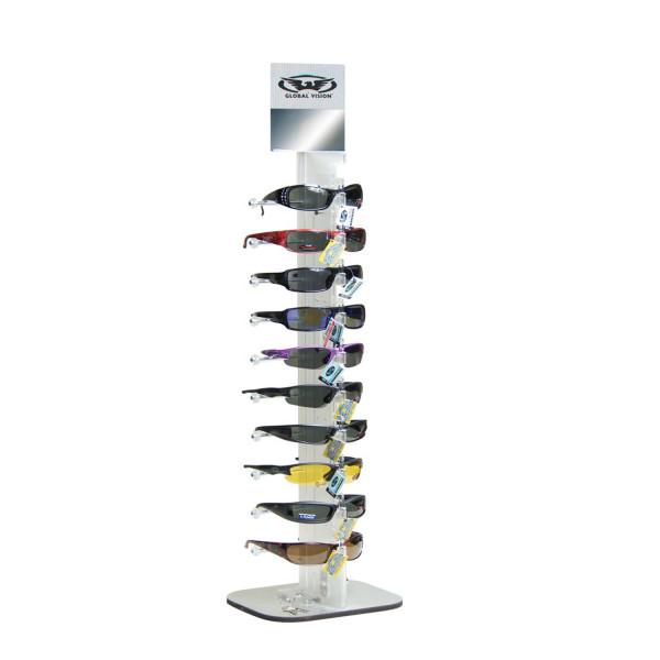 Display für 10 Brillen - abschließbar