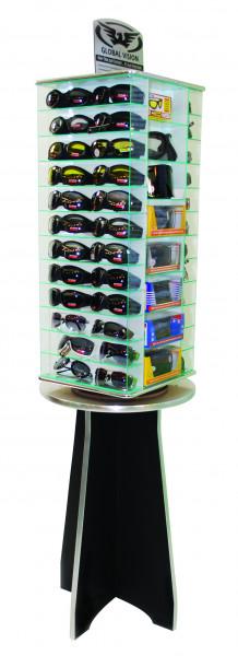 Display für 64 Brillen