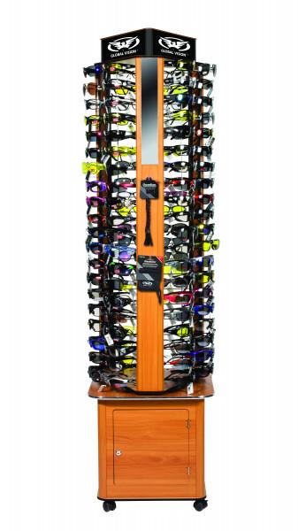 Display für 120 Brillen